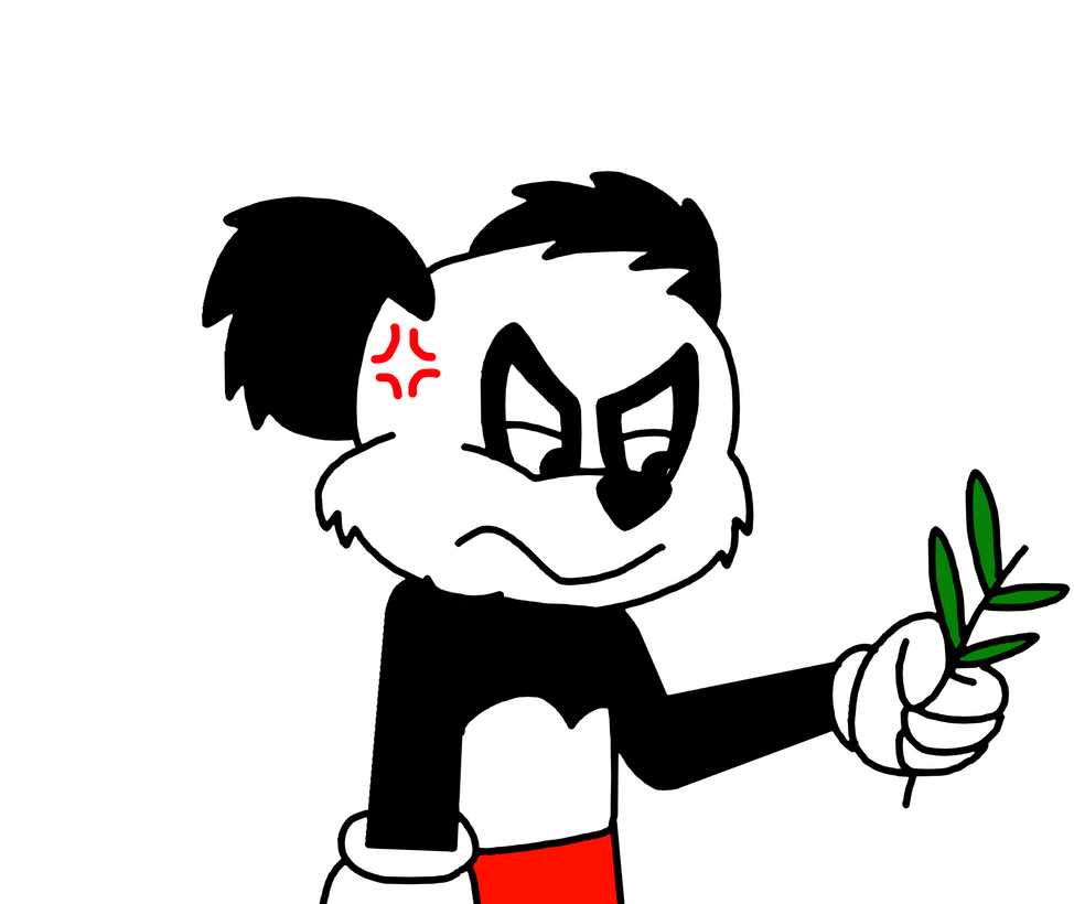 Andy panda with bamboo leaf by marcospower1996 on deviantart for Andy panda jardin