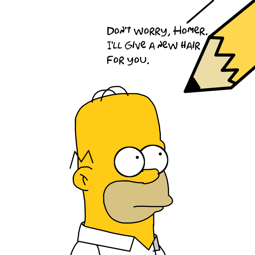 how to draw homer simpson dragoart