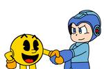 Pac-Man meets Mega Man