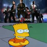 Bart Simpson likes Left 4 Dead