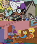 Simpson Kids reaction to Lori and Clyde married