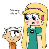 Lincoln Loud is luckier than Star Butterfly by Mega-Shonen-One-64