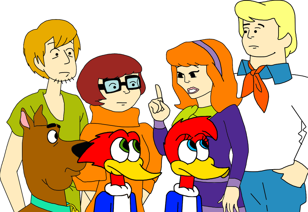 Woody and Winnie with Scooby-Doo and the gang by MarcosPower1996 on ...