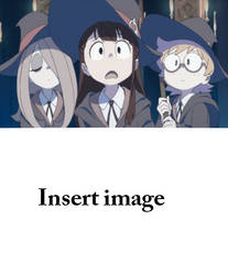 Atsuko, Lotte and Sucy's reaction - template by Mega-Shonen-One-64