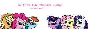 7 years of My Little Pony: Friendship is Magic