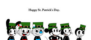 Happy St. Patrick's Day with Rubber Hose Toons