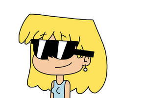 Lori Loud with sunglasses by Mega-Shonen-One-64
