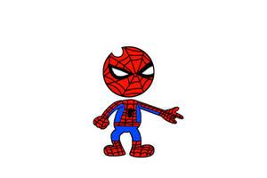Bendy as Spider-Man by Mega-Shonen-One-64