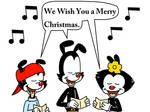 Warners singing We Wish You a Merry Christmas