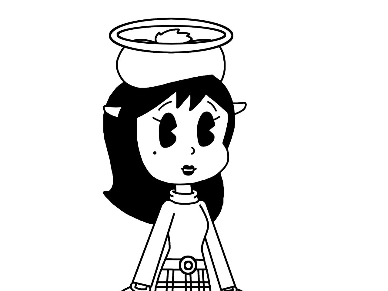 Alice Angel with scottish clothing by Mega-Shonen-One-64 on