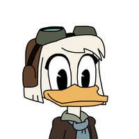 Della Duck - DuckTales 2017 design by Mega-Shonen-One-64