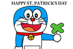 Happy St. Patrick's Day with Doraemon by Mega-Shonen-One-64