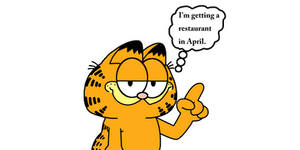 Garfield is getting a restaurant in April
