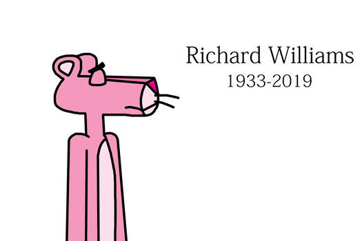 Tribute to Richard Williams with Pink Panther