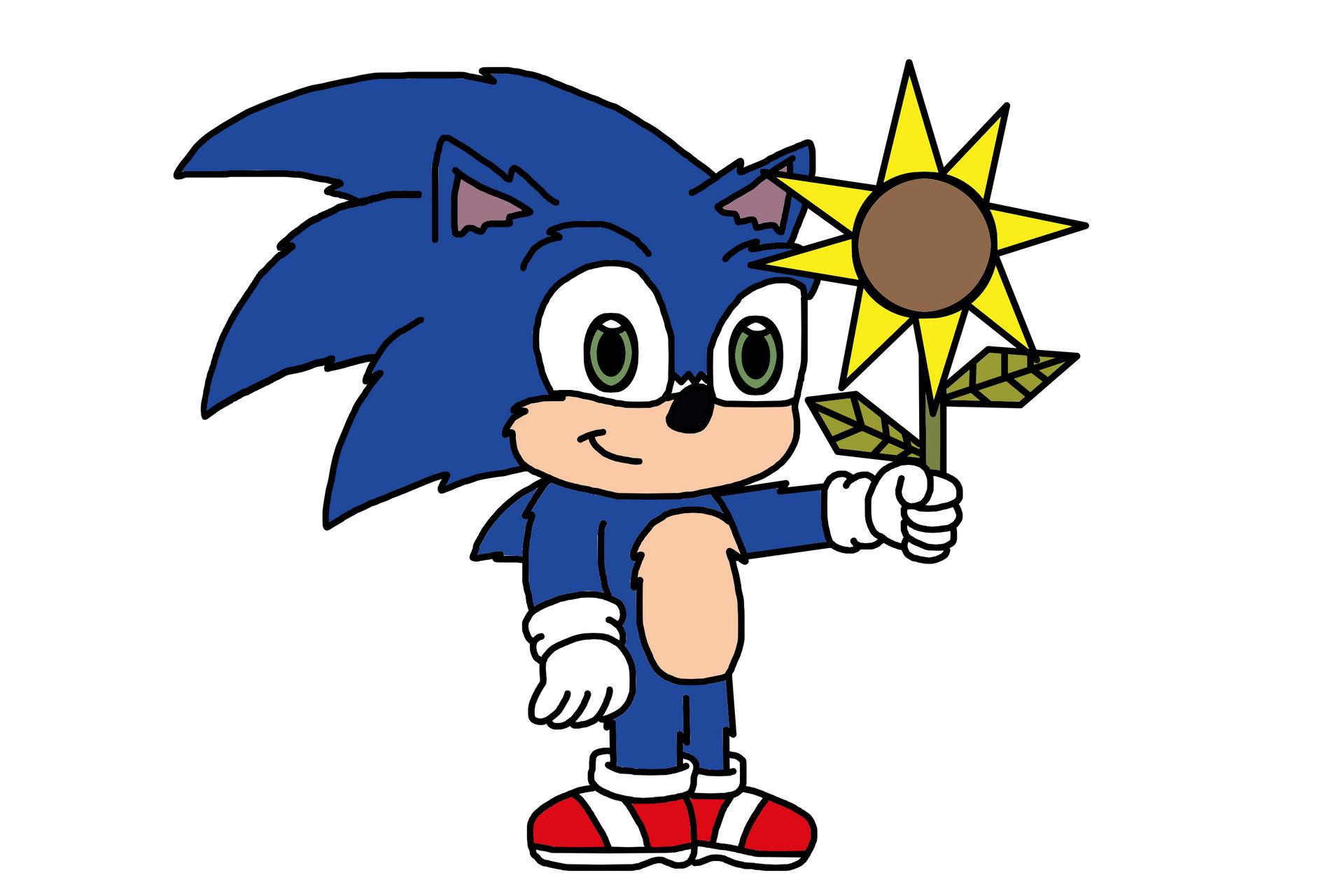 Movie Baby Sonic By Mega Shonen One 64 On Deviantart