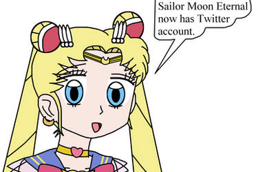 Sailor Moon Eternal now has Twitter account by Mega-Shonen-One-64