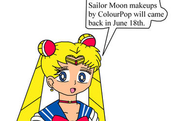 Sailor Moon makeups by ColourPop coming in June 18 by Mega-Shonen-One-64