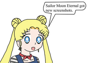 Sailor Moon Eternal got new screenshots by Mega-Shonen-One-64