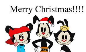 Merry Christmas from 2020 Yakko, Wakko and Dot
