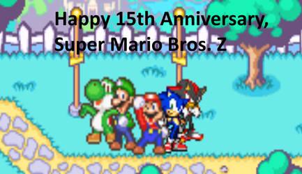 Super Mario Bros. Z - 15th Anniversary by Mega-Shonen-One-64