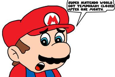 Super Nintendo World temporary closed by Mega-Shonen-One-64