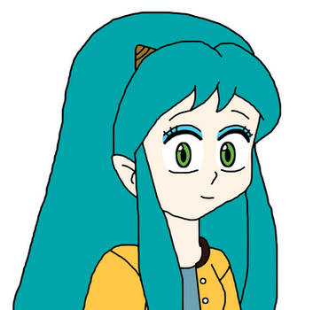 Lum Invader with outfit from episode 63 by Mega-Shonen-One-64