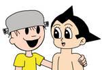 Astro Boy with The Nutty Boy