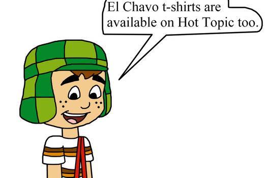 El Chavo t-shirts on Hot Topic