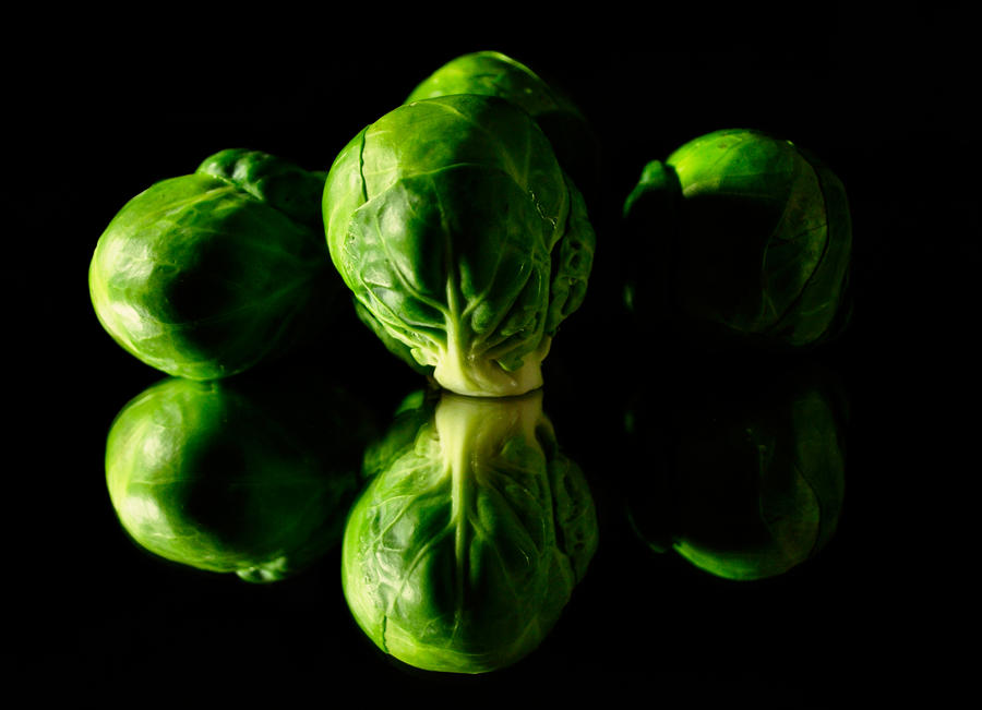 In The Raw: Brussels Sprouts by Xisana