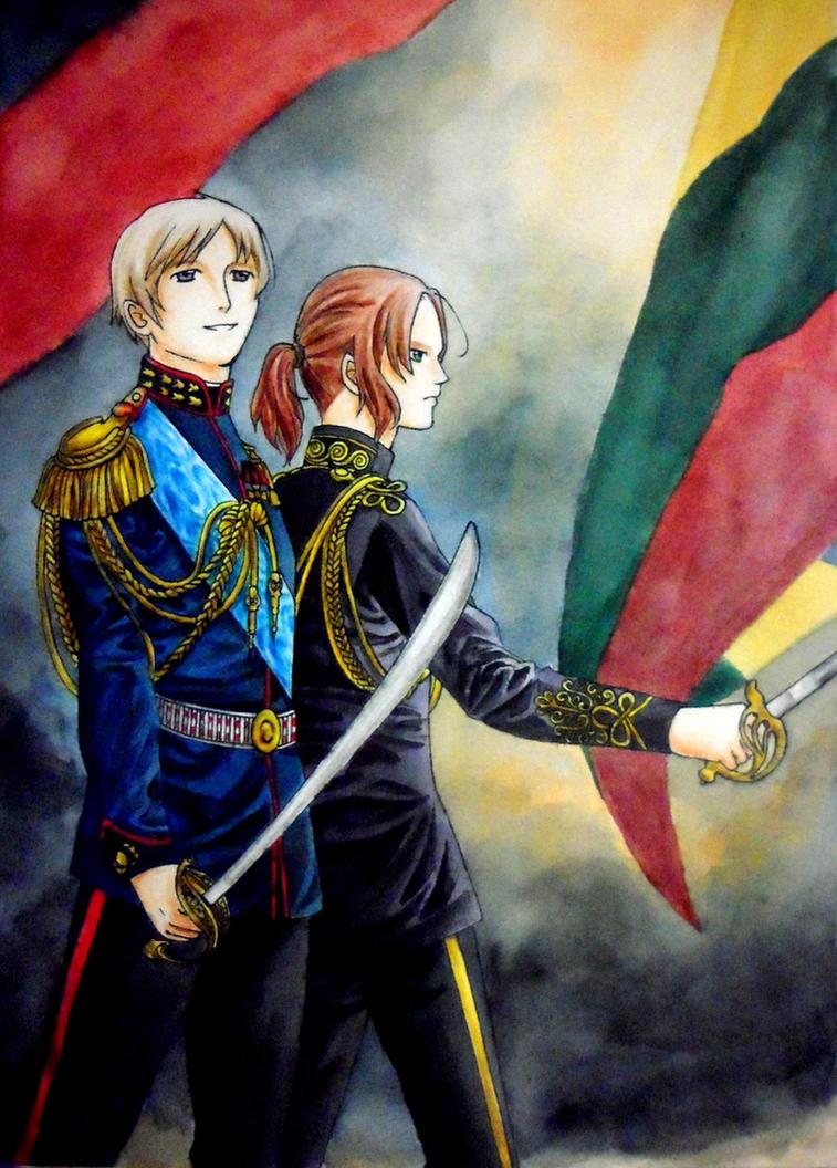 Russia and Lithuania by hanakoofthejungle