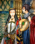 Spain and his Queen