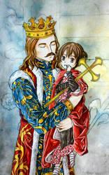 Moldova and his King by hanakoofthejungle