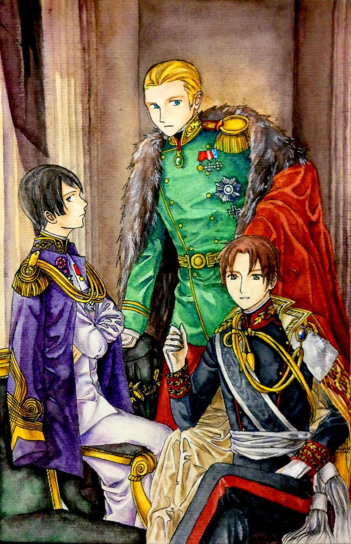 Hetalia Axis Powers (updated) by hanakoofthejungle