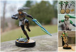 Fierce Deity Link Custom Amiibo Figure