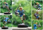 Custom Zelda Wii U Link Amiibo Figure