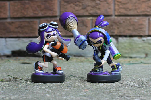 Purple Inkling Duo