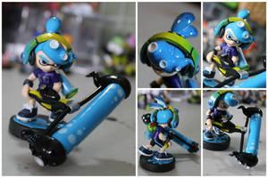 Custom Inkling Amiibo #60 | Octo Inkling Boy by PixelCollie