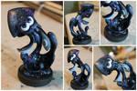Custom Galaxy Themed Splatoon 2 Squid Amiibo