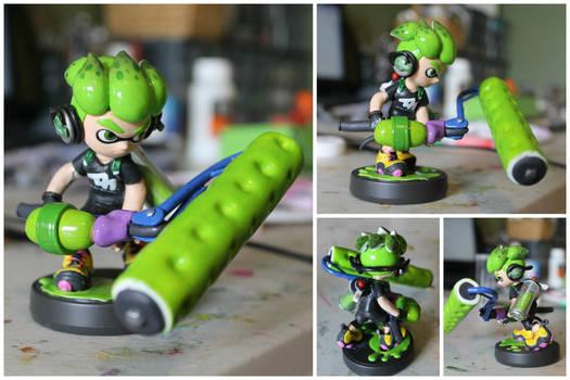 Custom Splatoon 2 Inkling #1 | Splat Roller