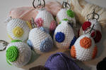 Crochet Yoshi Egg Collection by PixelCollie