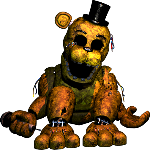 FNAF2 Slumped Golden Freddy 1 by ghostkillaAlex on DeviantArt