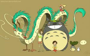 Ghibli Grouppic Part1