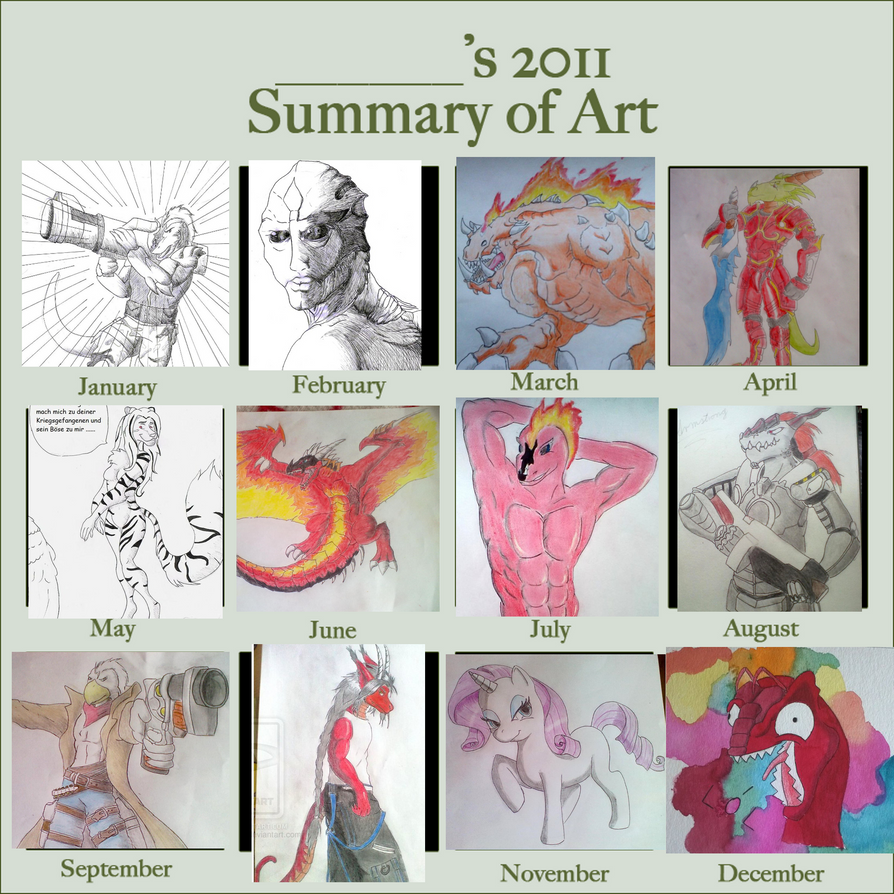My Art 2011 by PainchanArt