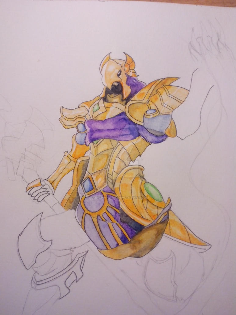 Wip Azir by PainchanArt