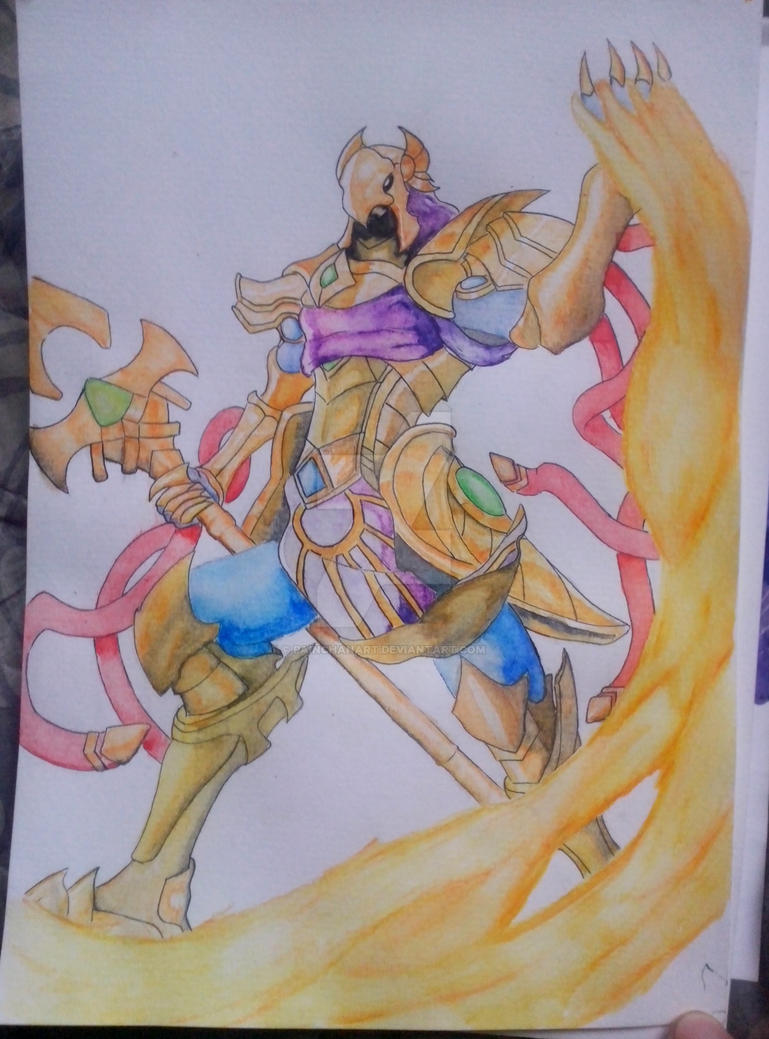 Azir Finish by PainchanArt