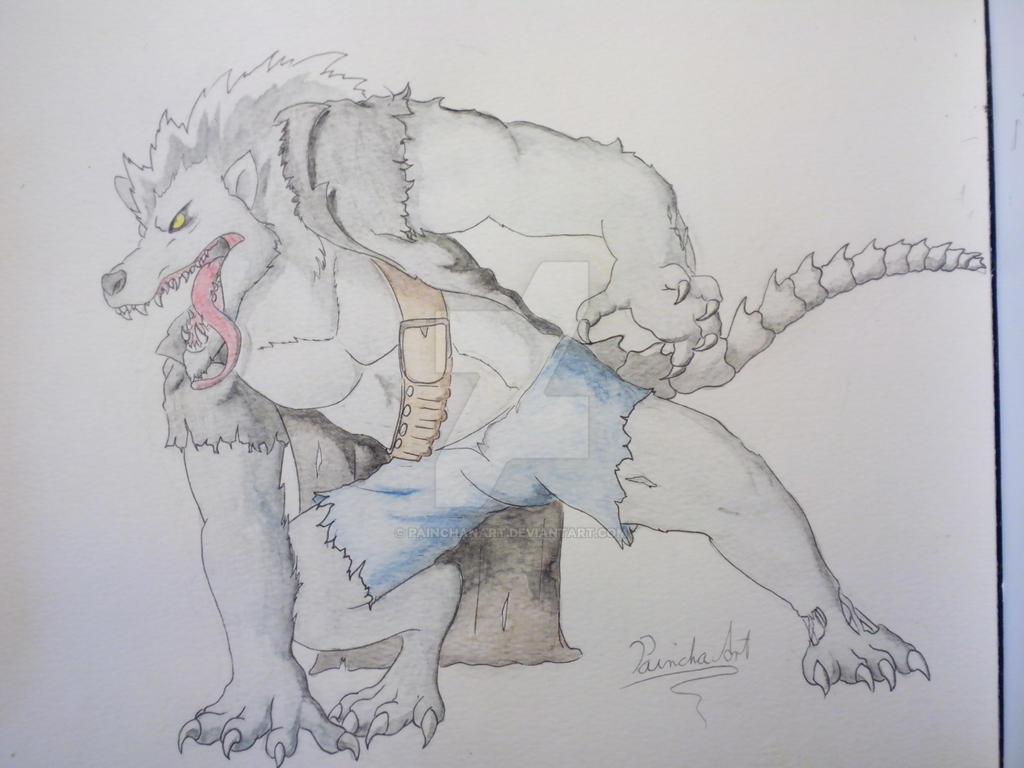 Werewolf by PainchanArt