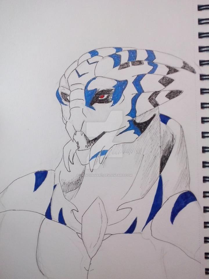 Blue by PainchanArt