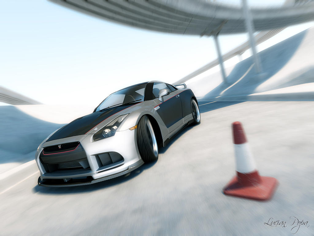 Nissan GTR Tuned 6 by LucianP