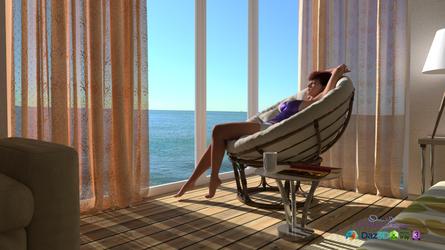 Wanda Beach Condo Reflecting