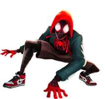 Into the Spiderverse: Miles Morales vector (3)
